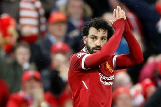 Футболист «Ливерпуля» и сборной Египта Мохаммед Салах