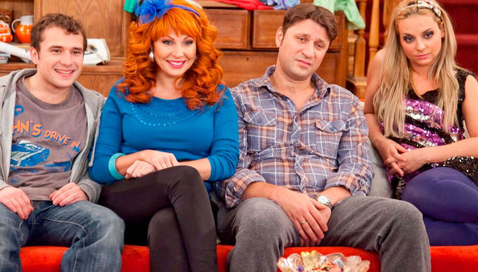 Кадр из сериала «Счастливы вместе» (2006 – 2013)