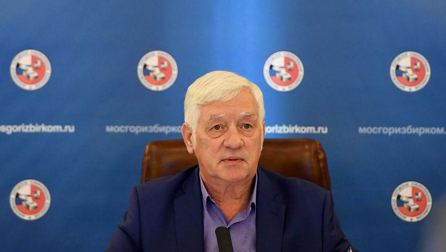 Председатель Московской городской избирательной комиссии Валентин Горбунов на заседании в Москве, август 2019 года