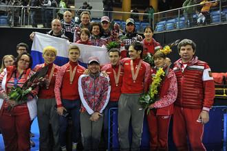 Национальная сборная России по шорт-треку впервые в истории выиграла серебро ЧМ