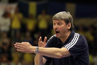 Главный тренер женской баскетбольной сборной России Альфредас Вайнаускас