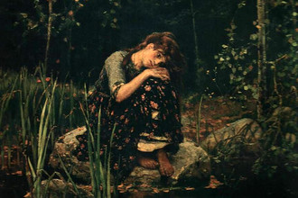 Картина «Аленушка» Виктора Васнецова