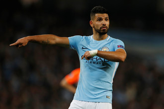 Нападающий «Манчестер Сити» Серхио Агуэро
