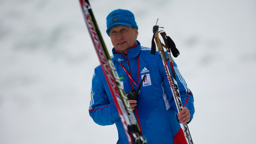 Главный тренер сборной России Валерий Польховский