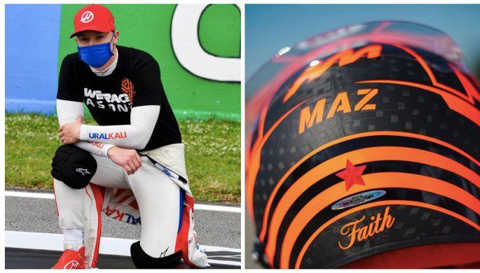 Российский пилот команды «Хаас» «Формулы-1» Никита Мазепин