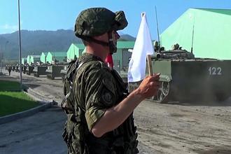 Военная техника Вооруженных сил РФ во время приведения в боевую готовность «Полная»