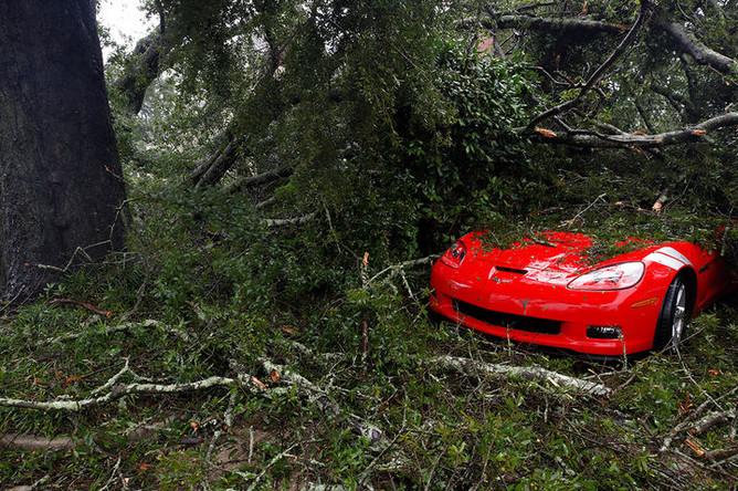 Последствия урагана Флоренс в Северной Каролине, 14 сентября 2018 года