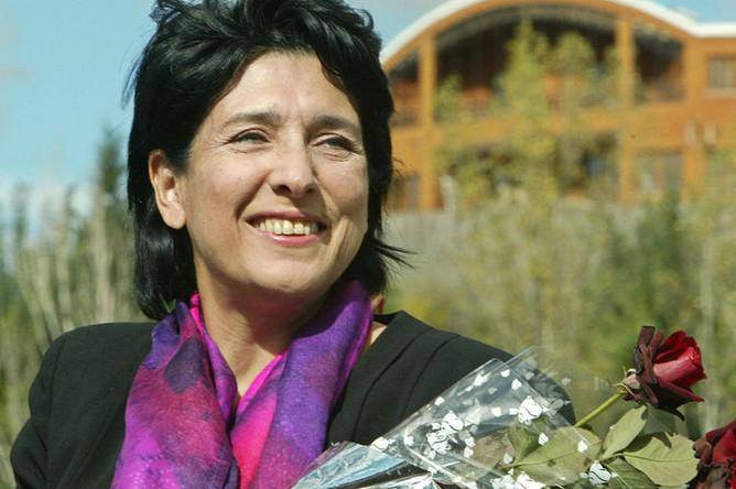 Саломе Зурабишвили, 2005 год