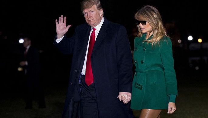 Трамп прокомментировал сообщения о подмене жены двойником