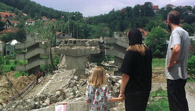 Последствия бомбардировок НАТО Югославии, 1999 год