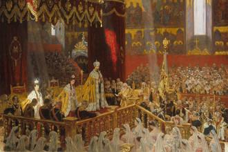 Лауриц Туксен. Коронация императора Николая II Александровича и императрицы Александры Феодоровны. 1898