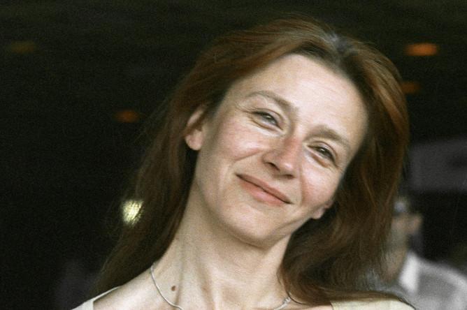 Киноактриса Елена Сафонова