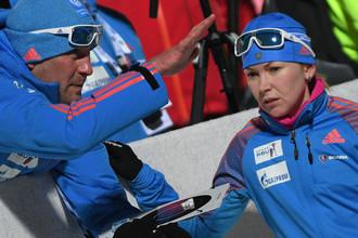 Екатерина Глазырина (справа) отстранена от соревнований