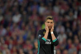 Криштиану Роналду в полуфинале Лиги чемпионов