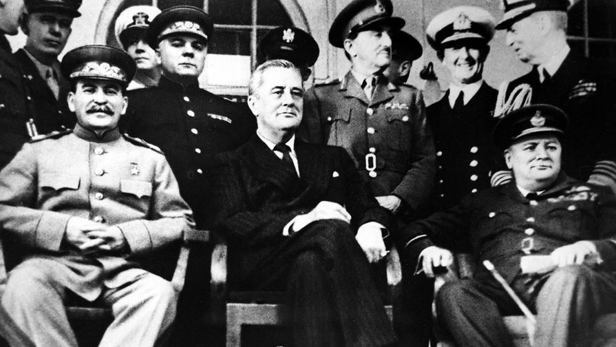 """75 лет назад открылась Тегеранская конференция с участием """"большой тройки"""""""