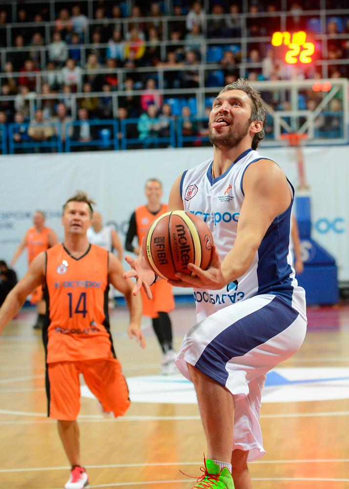 благотворительный матч по баскетболу гоша куценко