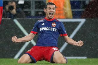 Алан Дзагоев забил под московским ливнем важнейший гол ЦСКА в этом сезоне
