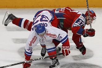 Матч между сборными России и Чехии получился очень упорным