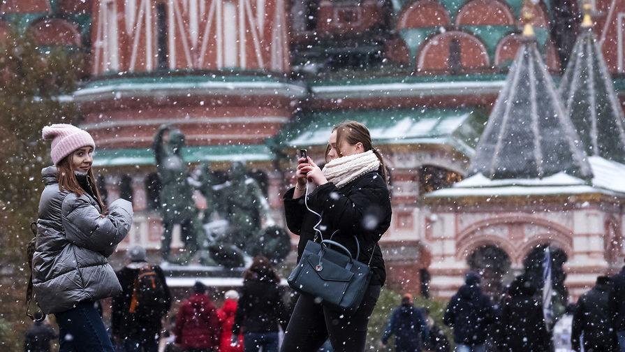 В Москве ожидают рост атмосферного давления