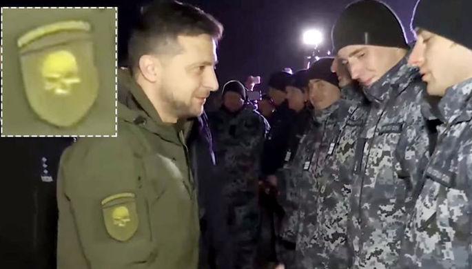 «Украина или смерть»: Зеленский нацепил шеврон с черепом