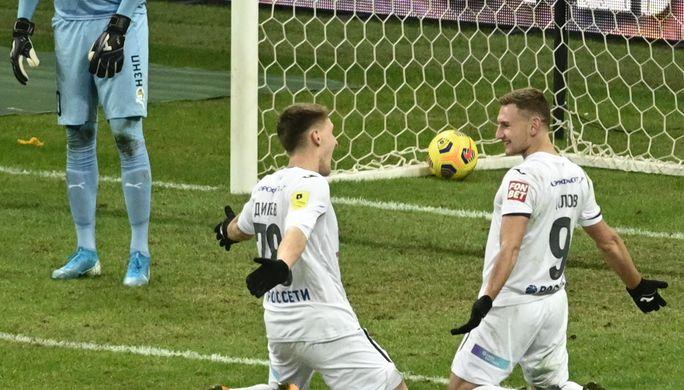 Эпизод матча ЦСКА- «Краснодар»