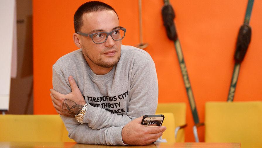 Российский рэп-исполнитель Алексей Guf Долматов