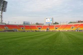 Питерский стадион «Петровский», на котором в прошлом году состоялся исход фанатов