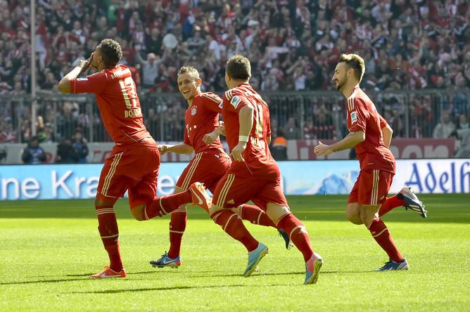 «Бавария» забила четыре безответных мяча в ворота «Нюрнбурга»