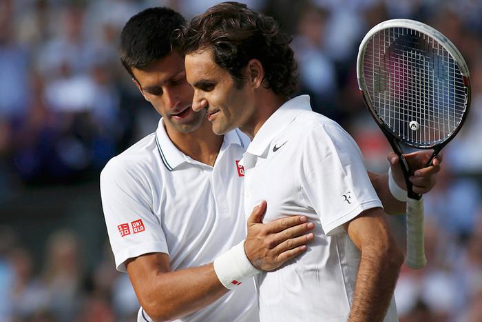 Federer about Djokovic: he creates a story