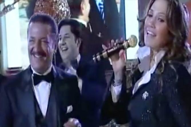 Дженнифер Лопес выступает на дне рождения Тельмана Исмаилова