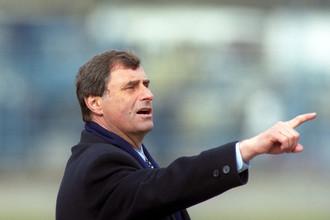 Главный тренер сборной России по футболу Анатолий Бышовец. 1998 год
