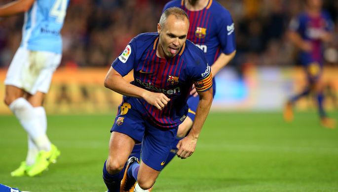 Капитан «Барселоны» Андрес Иньеста