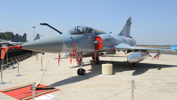Индийские истребители нанесли удары по позициям боевиков в Кашмире