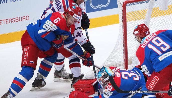 Матч против сборной Чехии на Кубке Первого канала сборной России совсем не удался