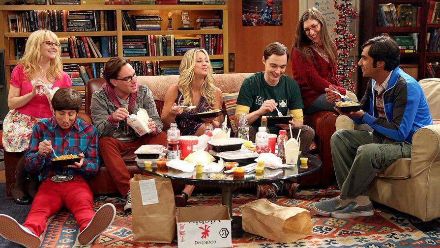 Кадр из сериала «Теория Большого взрыва» («The Big Bang Theory»)