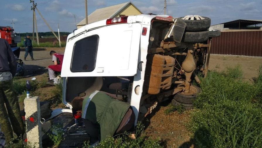 Один человек погиб в результате аварии с участием маршрутки под Астраханью
