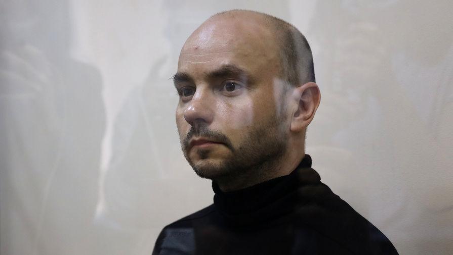 Андрей Пивоваров в Первомайском районном суде города Краснодара, 2 июня 2021 года