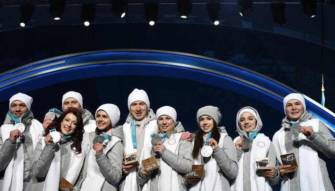 Российские фигуристы завоевали серебро в командном турнире