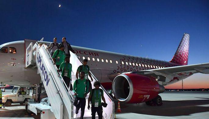 Самолет Саудовской Аравии успешно приземлился в Ростове-на-Дону