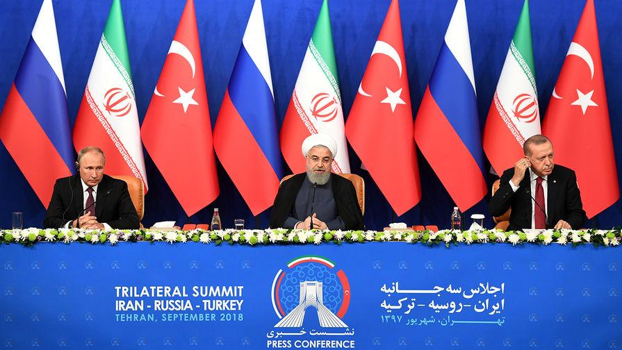 Россия, Иран и Турция проведут онлайн-встречу по Сирии 22 апреля