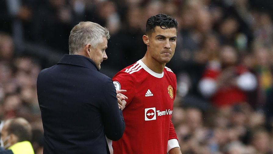 Наставник Манчестер Юнайтед объяснил, почему оставил Роналду в запасе