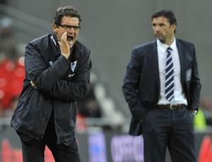 Фабио Капелло не был доволен игрой англичан
