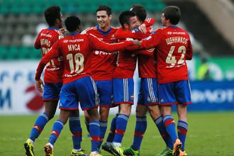 ЦСКА после пяти матчей без голов забил сразу пять мячей «Краснодару»