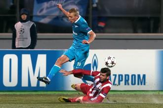 С легкой ноги Игоря Смольникова счет сравнялся