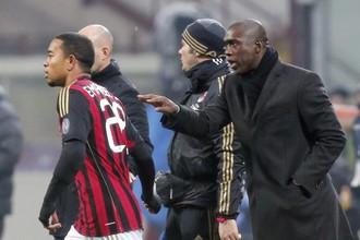 Уверенные команды Кларенса Зеедорфа помогли «Милану» обыграть «Верону»
