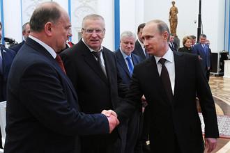 Рождественская встреча Владимира Путина