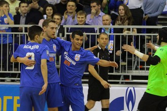 Игроки МФК «Газпром-Югра»