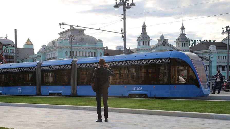 Реконструированная площадь Белорусского вокзала