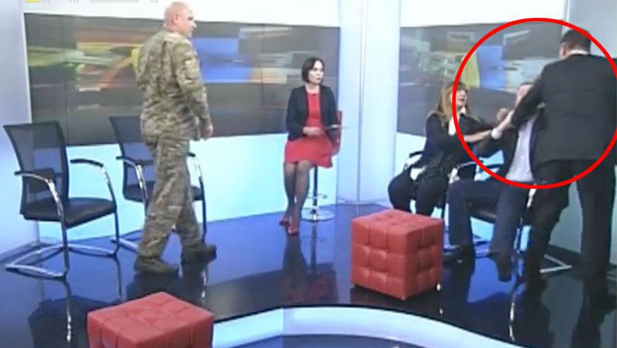 Депутаты Рады опять подрались в прямом эфире