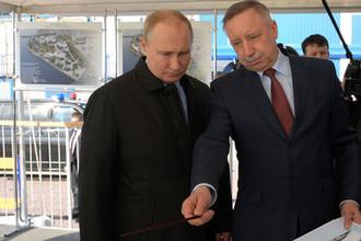 Владимир Путин и Александр Беглов